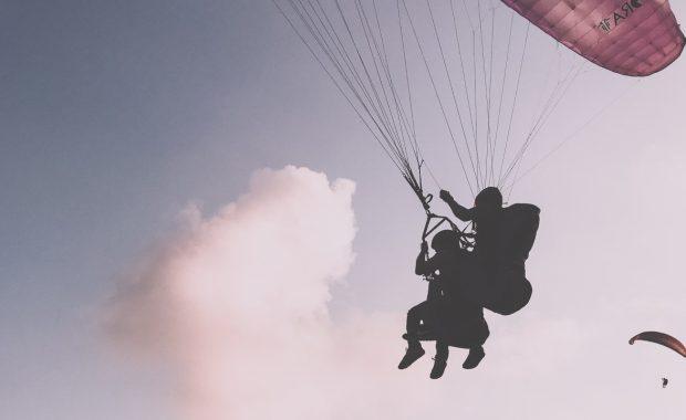 Tandem Paragliding Hero Image