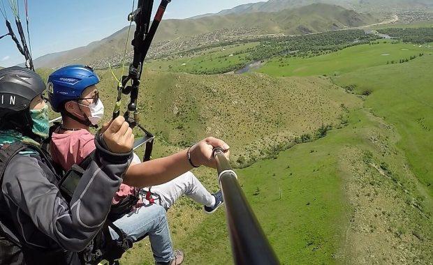Tandem Paragliding Training