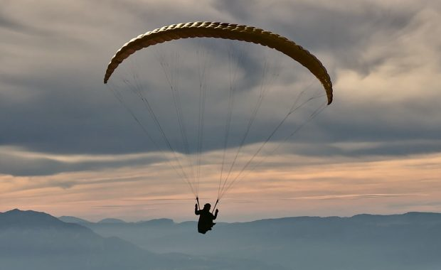 XC paragliding Photo by Nicolas Tissot on Unsplash