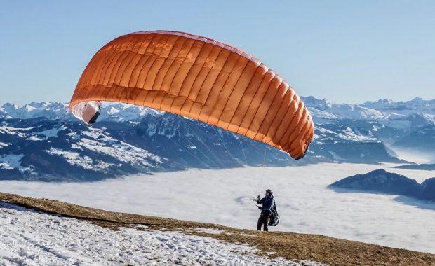 paragliding ground handling training