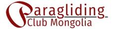 Paragliding Club Mongolia Website Logo